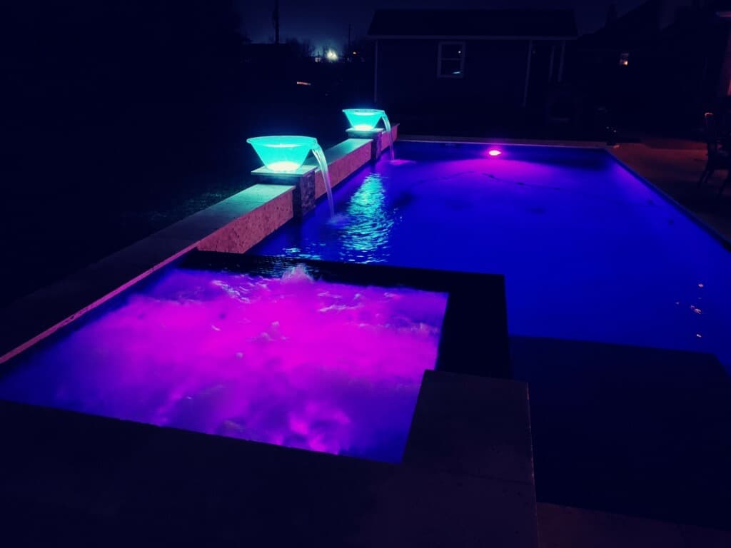 bay coast construction pool night pool 1