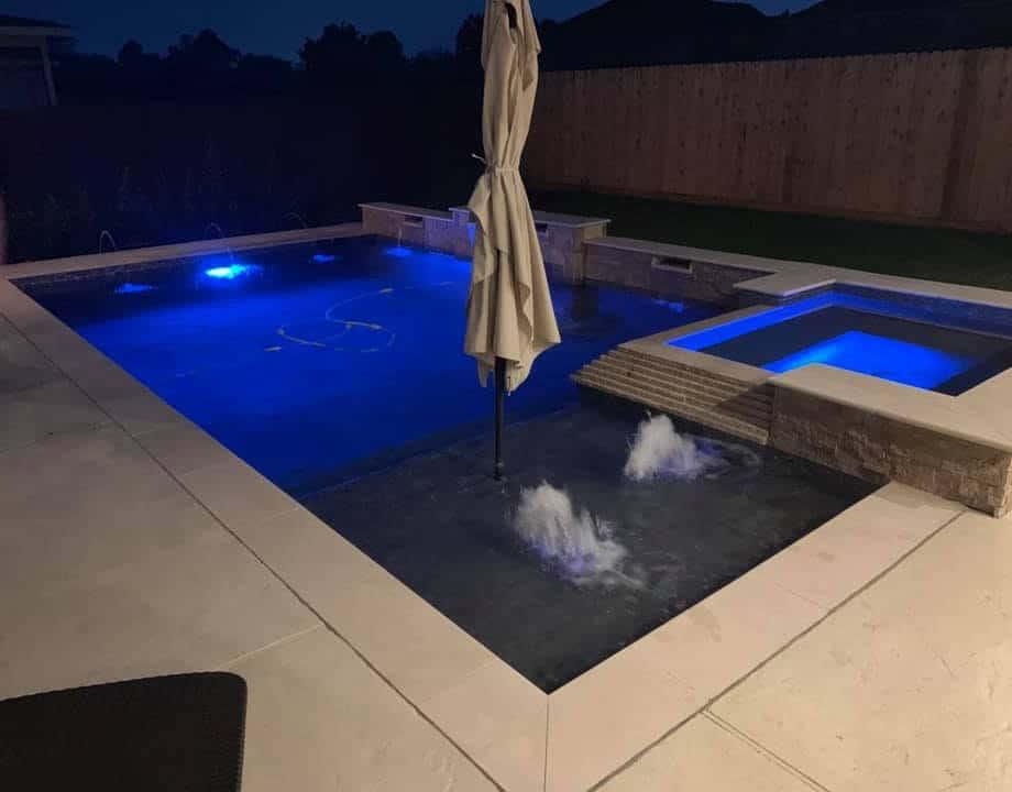 pool builder friendwood texas